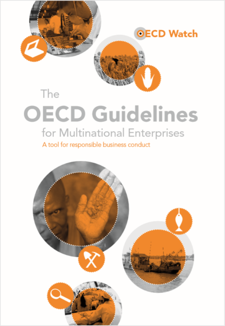 publication cover - OECD Guidelines and Complaints