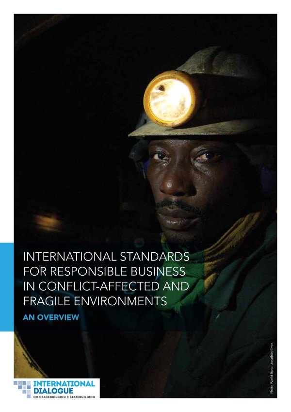 OECD Guidelines apply to responsible business in conflict settings