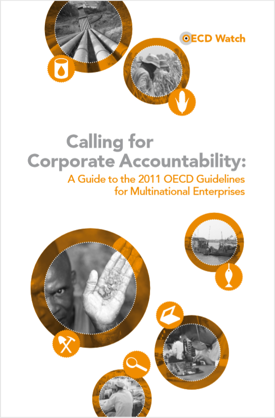 publication cover - Calling for Corporate Accountability
