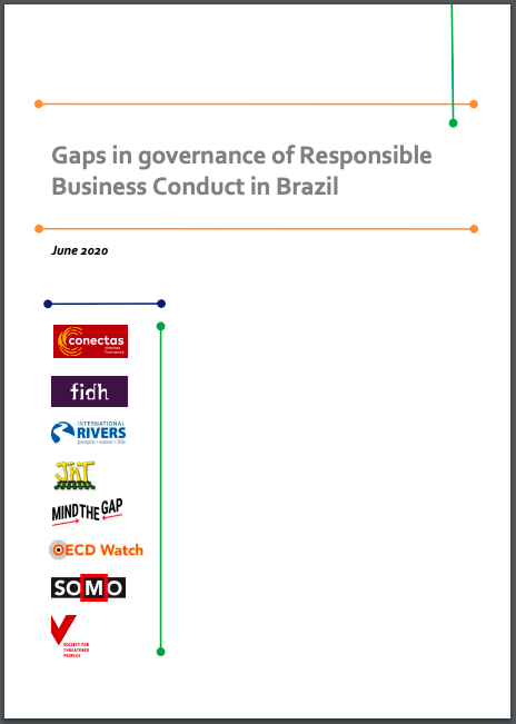 publication cover - Gaps in Governance of Responsible Business Conduct in Brazil