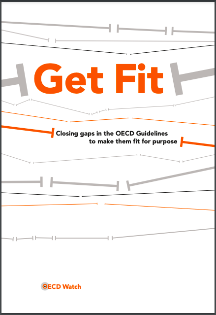 publication cover - Get Fit: Closing gaps in the OECD Guidelines to make them fit for purpose